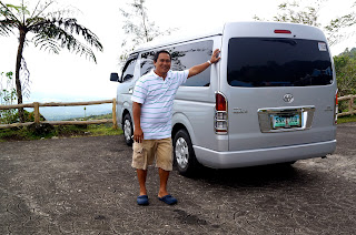 bicol van for hire