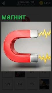 Изображение магнита и его действие, каким образом происходит притяжение предметов