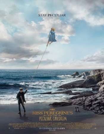 Poster Of Miss Peregrine's Home for Peculiar Children 2016 English 700MB HDTS x264 Free Download Watch Online downloadhub.net