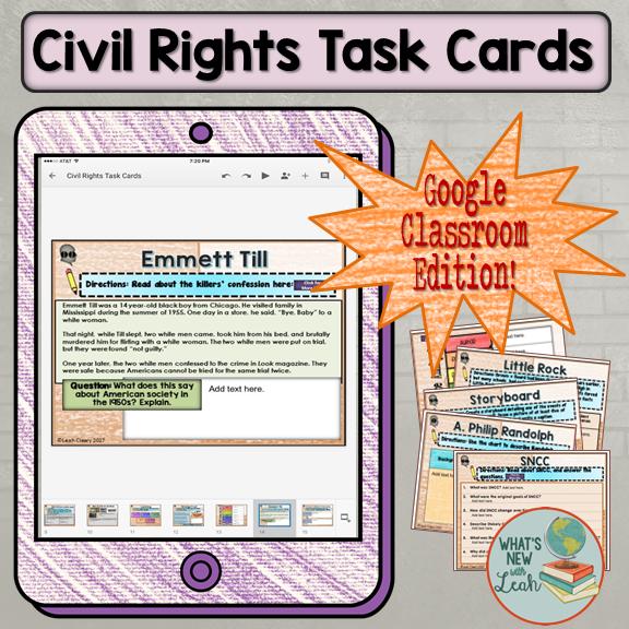Try Something New--Digital Task Cards