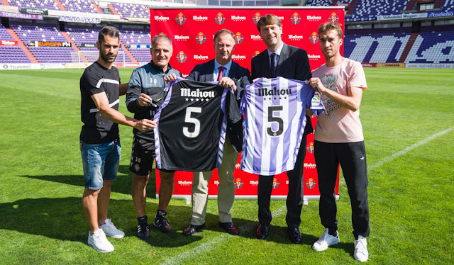 Mahou renueva con el Valladolid por cinco temporadas