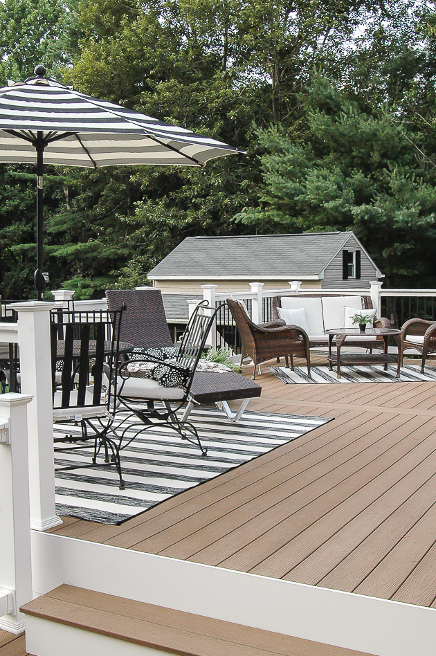 summer deck, outdoor living, deck