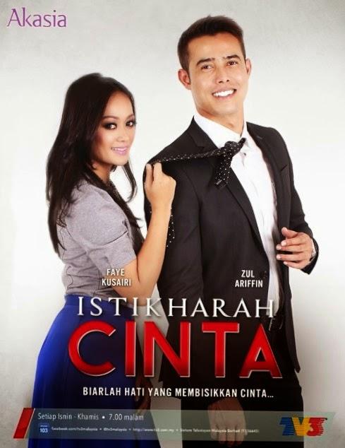 Gambar drama TV3 Istikharah Cinta, Original Sound Track Istikharah Cinta, Download OST Istikharah Cinta, Lagu tema Istikharah Cinta, lagu latar drama TV3 Istikharah Cinta