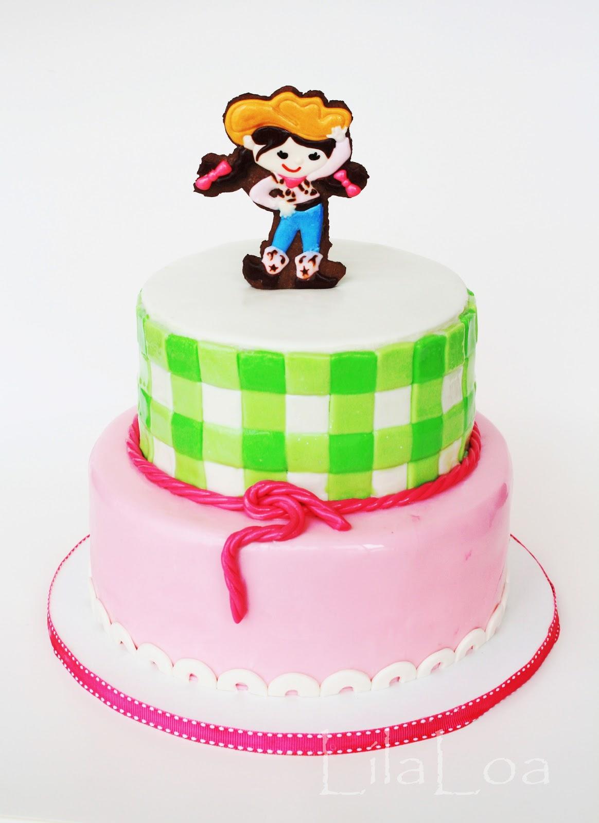 Terrific Cowgirl Birthday Cake Personalised Birthday Cards Bromeletsinfo