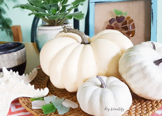 makeover dollar store pumpkins