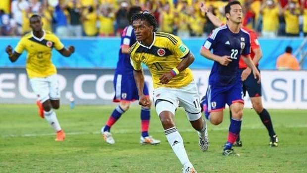 Kolombia vs Jepang