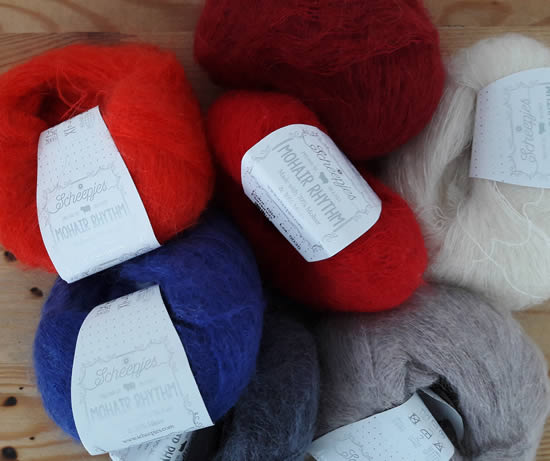 Scheepjes Rhythm Mohair | Happy in Red
