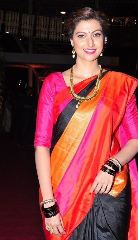 Hamsa Nandini Beautiful Photos In Black Saree