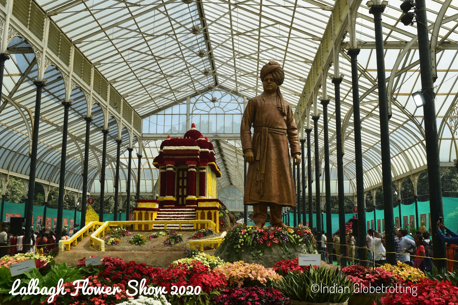 lalbagh flower show 2020 at bangalore