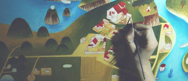 "Otvaranje izložbe slika ""Mesta"" Jelene Vasiljević"