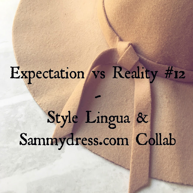 lovelaughslipstick blog expectation vs reality series sammydress.com collab style lingua