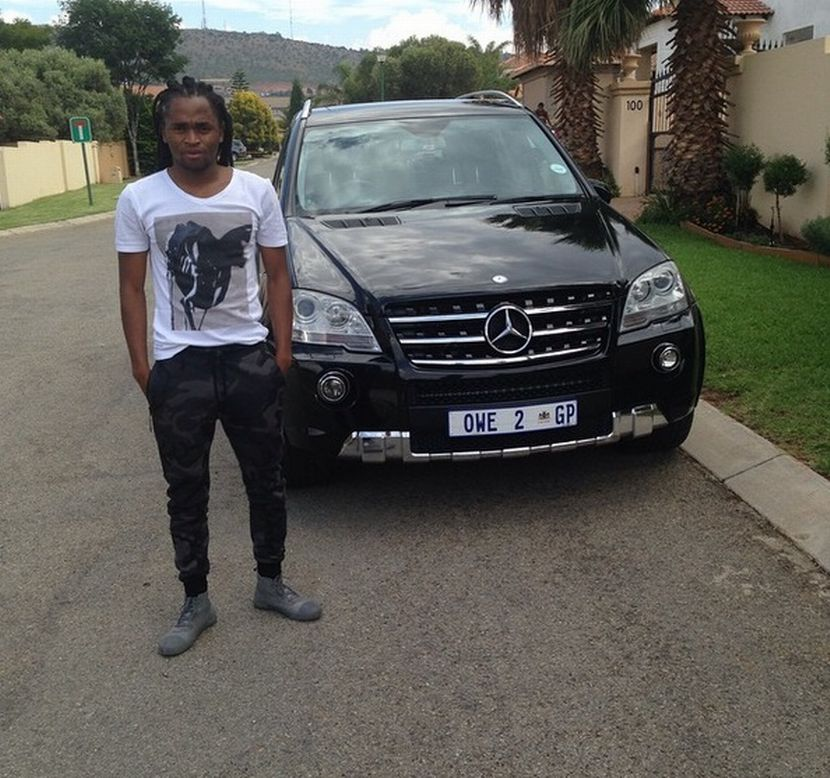 Kaizer Chiefs Skipper Siphiwe Tshabalala Drives Benz C63