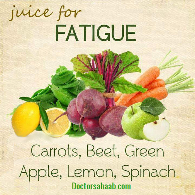 Juice for Fatigue (Carrots+Beet+Green Apple+Lemon+Spinach)
