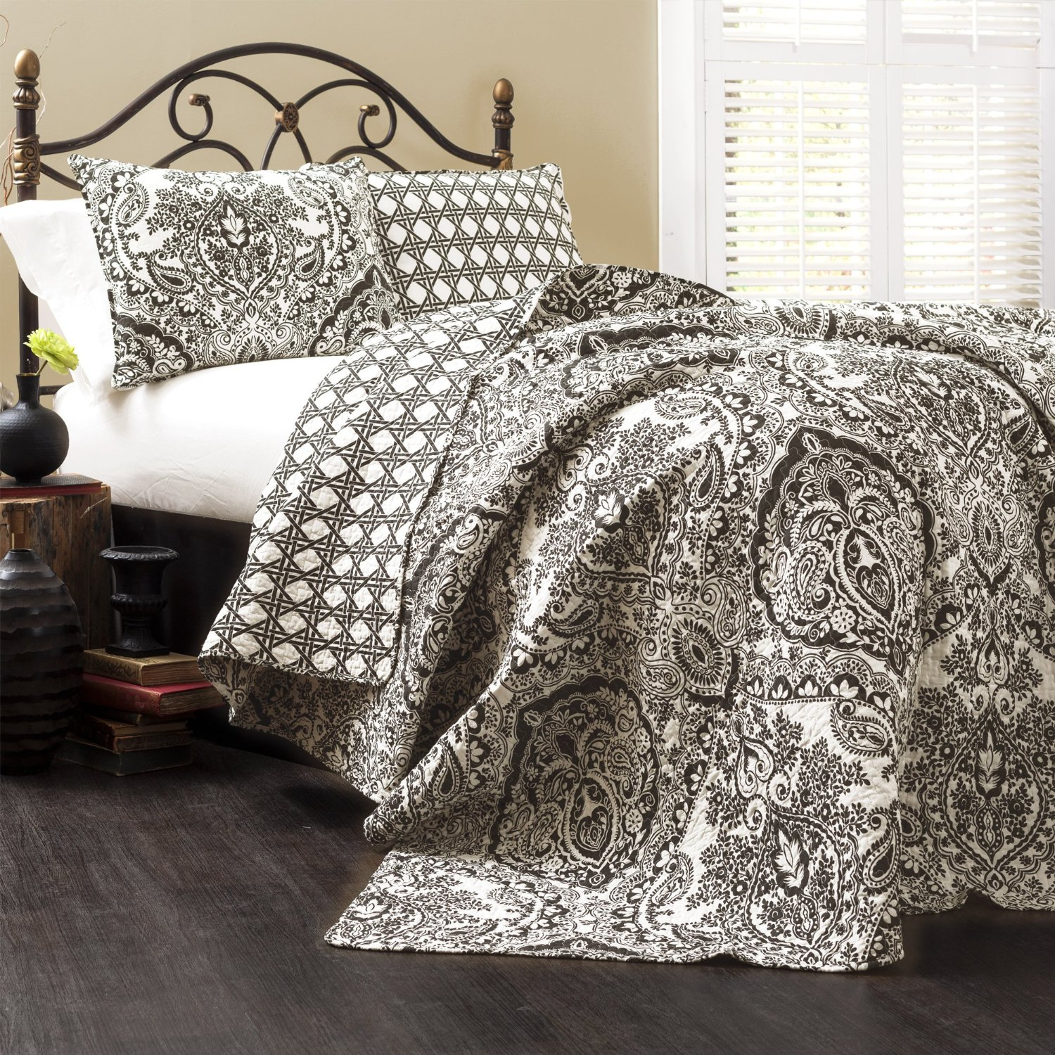 Black And Ivory Comforter Amp Bedding Sets