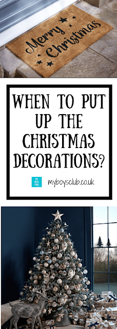 When to Put up the Christmas Decorations? with Cox and Cox