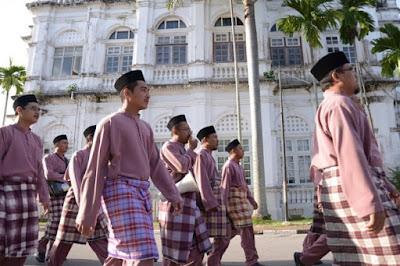 Muslim men in Malaysia