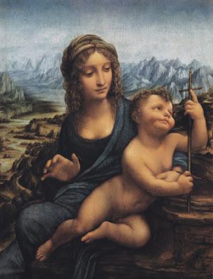 La Virgen del Huso – Leonardo Da Vinci