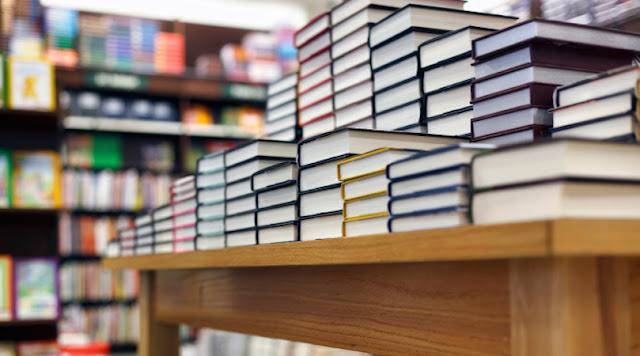 Souvernirs de livros sobre Nevada em Las Vegas