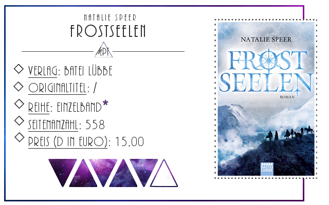[Rezension] Frostseelen - Natalie Speer