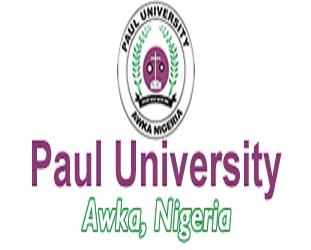 Paul University, Awka 2017/2018 JUPEB 1st Batch Admission List Out