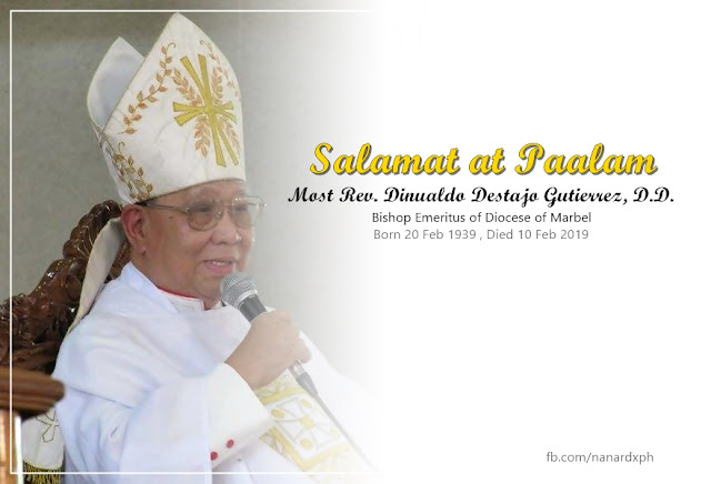 Bishop Dinualdo Gutierrez!
