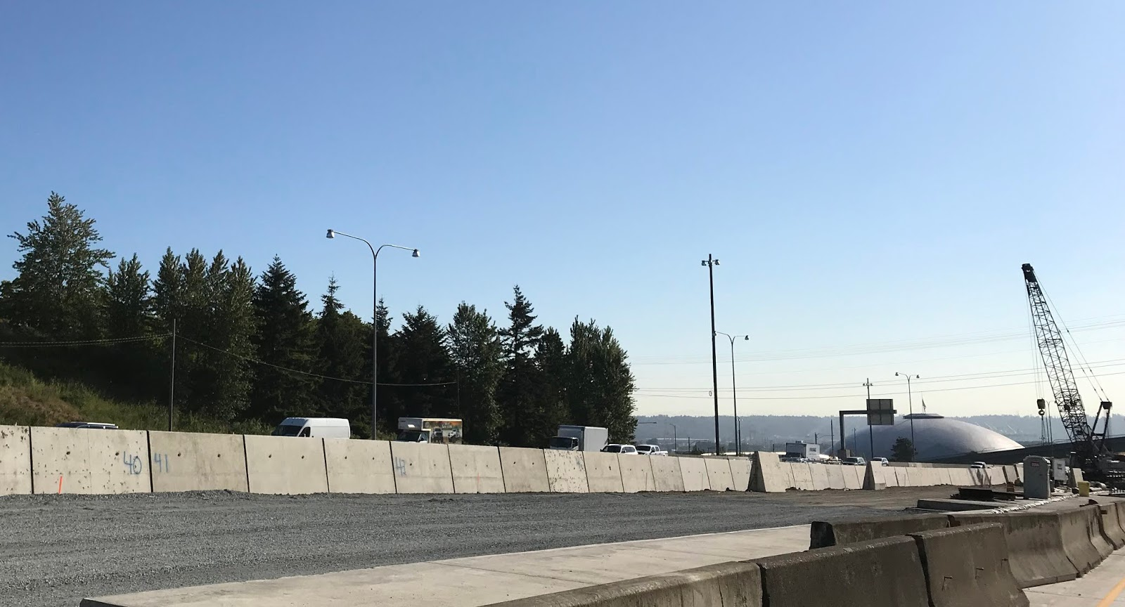 this summer crews are converting the old lanes of northbound i 5 near pacific