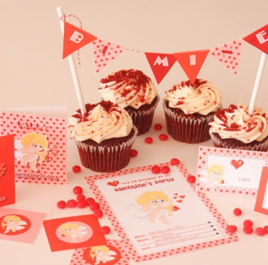Free Printables Cupid Valentine's Day Party