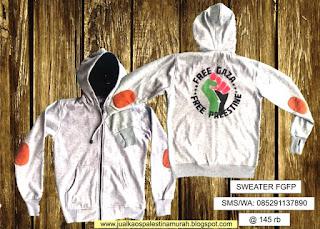 Sweater Palestina Murah