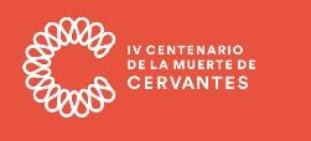 WEB OFICIAL IV CENTENARIO DE LA MUERTE DE CERVANTES