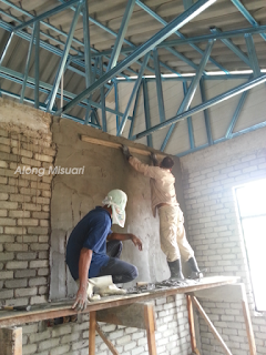 Kerja-kerja Plaster Dinding Rumah