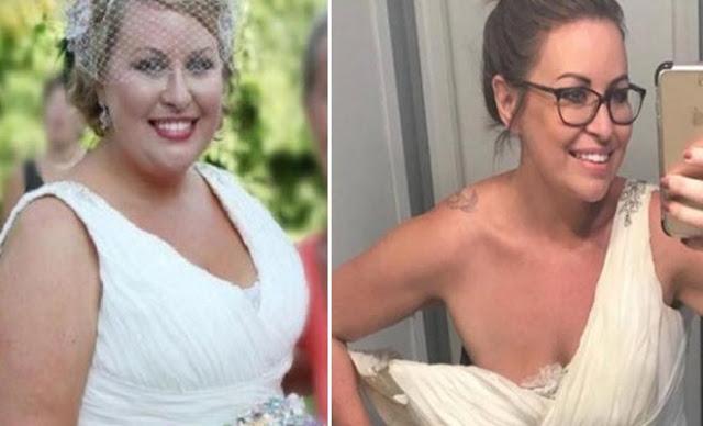 αλλαγή στη διατροφή της και κατάφερε να χάσει 42 κιλά