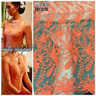 Kebaya Tile Milky Skin Padi
