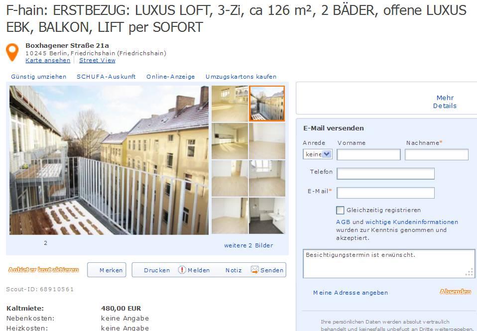 f hain erstbezug luxus loft 3 zi ca 126 m 2 b der offene. Black Bedroom Furniture Sets. Home Design Ideas