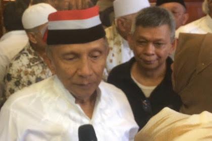 Majelis Hakim Nyatakan tak Ada, ICW Malah Ngotot Amien Rais Terima Aliran Dana Alkes