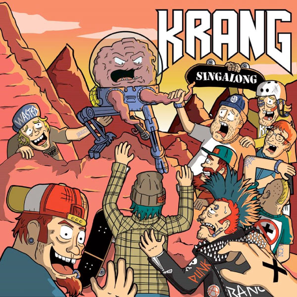 "Krang stream new song ""Indiana Jones Hates Nazis And Snakes"""