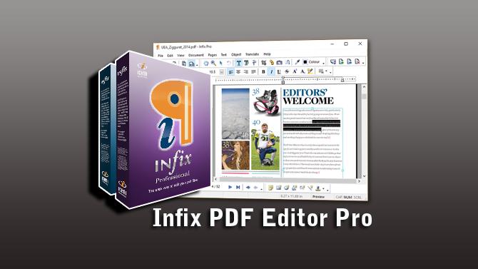 Infix PDF Editor Pro 7.2.8 Full Patch 100% Free