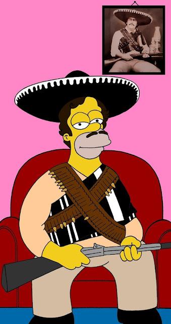 Homero Simpson en Pablo Escobar y en 'El Chapo