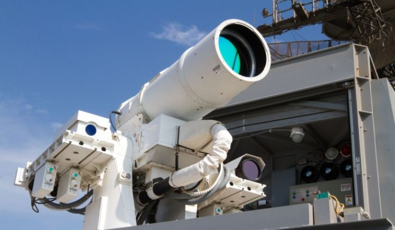 High Tech Laser Weapons