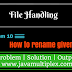 How to rename given file name in Java?