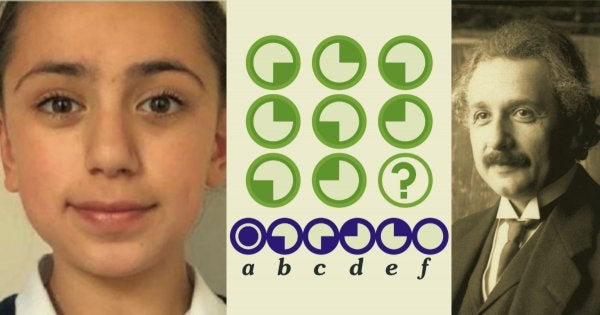 11-Year-Old Iranian Girl Scored 162 In Mensa IQ Test Beating Both Einstein And Hawking