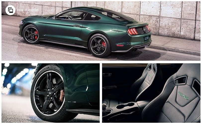 2019 ford mustang bullitt specs and price new cars review. Black Bedroom Furniture Sets. Home Design Ideas