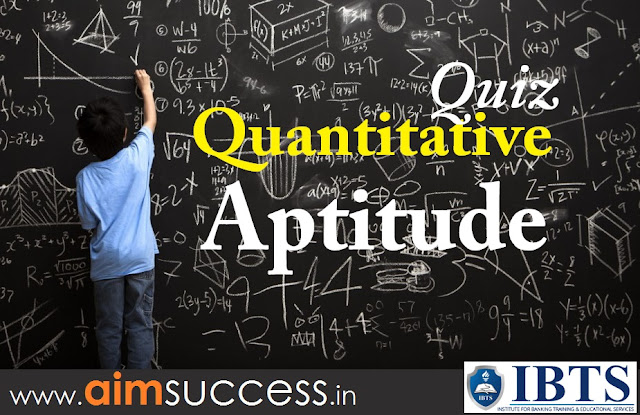 Quantitative Aptitude MCQs for SBI PO Main 2018 : 19 July