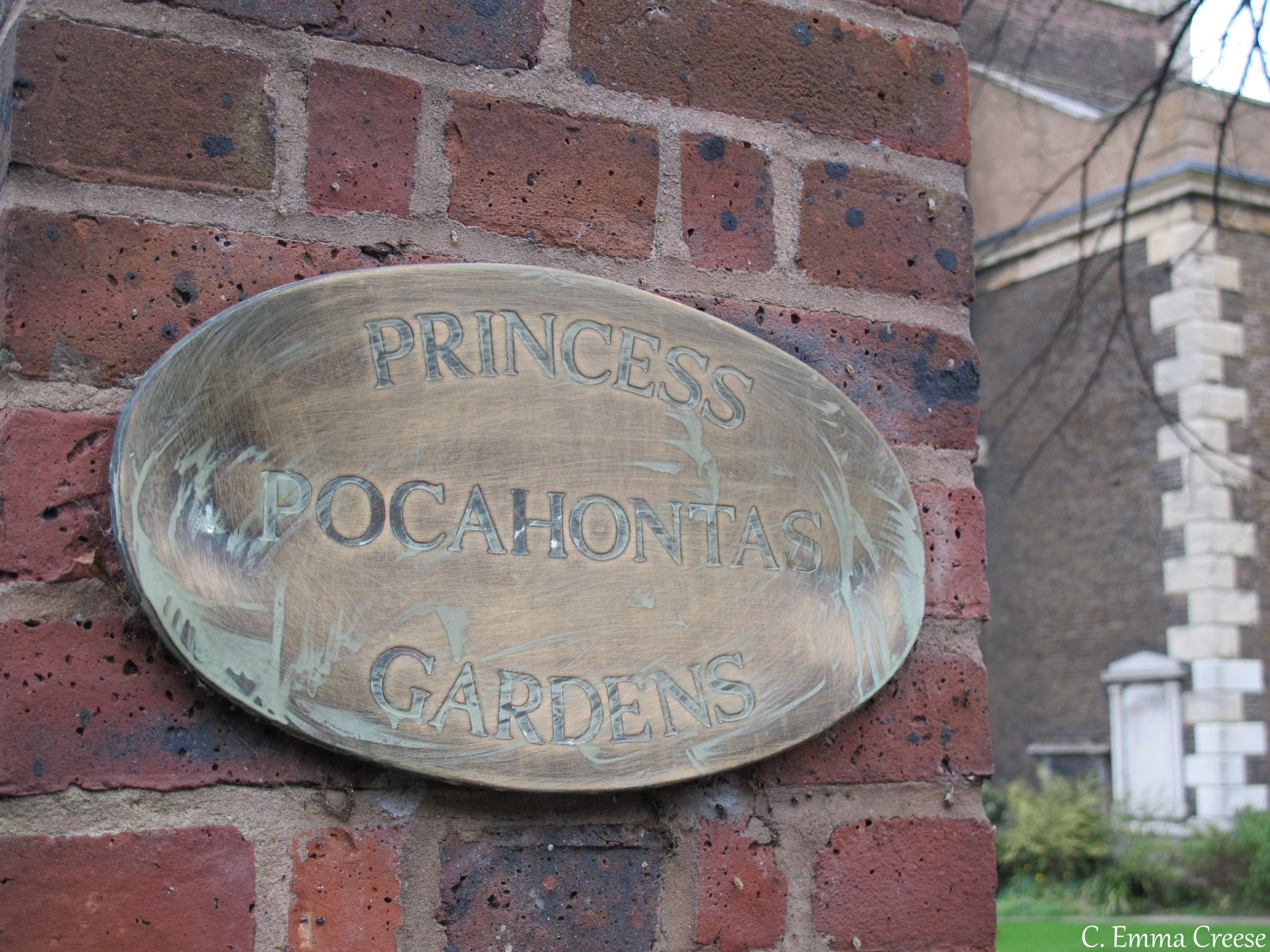 Pocahontas and her connection with Gravesend, Kent
