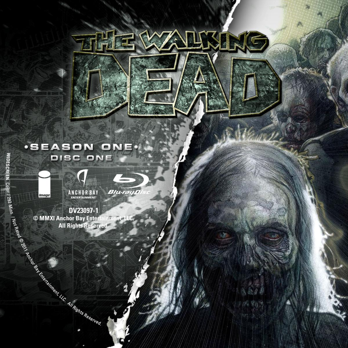 Label Bluray The Walking Dead Primeira Temporada