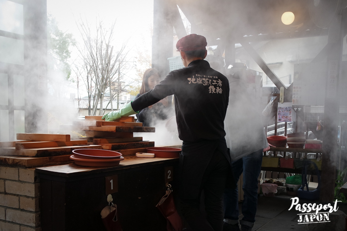 Fours à vapeur, Jigoku Mushi Kôbô, Beppu