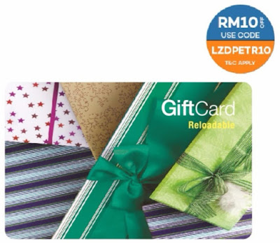 PETRONAS Fuel Card Reloadable Lazada Voucher Code Discount Offer Promo