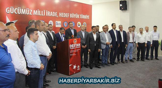 Diyarbakır Ticaret Borsasından 15 Temmuz açıklaması
