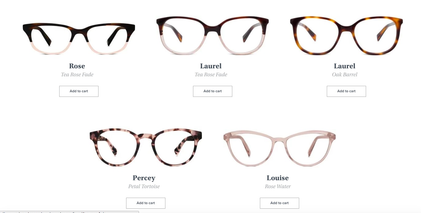 1e888b549e487 My results on what glasses would be best for me were pretty spot on. Out of  my results
