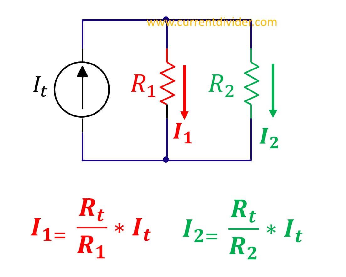 current divider rule for