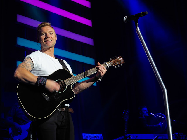 ronan keating newcastle city hall time of my life world tour concert review
